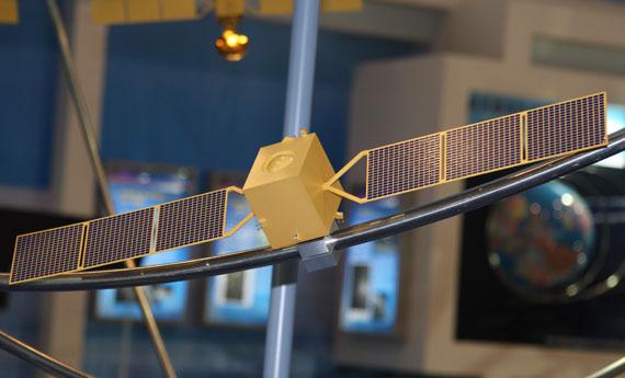 国产北斗导航定位卫星模型